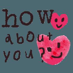 シンプルに伝えるための文字と表情3