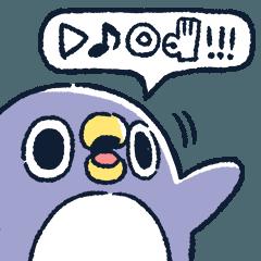 なにか伝えたいペンギン