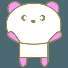 ピンクなパンダ