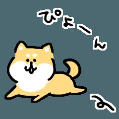 「柴犬 イラスト ゆる」の画像検索結果