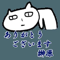 榊原(さかきばら)専用スタンプ