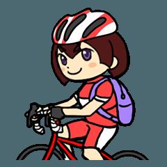 自転車のりのためのスタンプ 第二弾