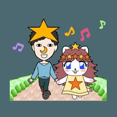 鼻月夜空と妖精の猫の日常