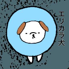 エリカラ犬