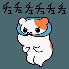 おるちゅばんエビちゅの動くスタンプ 第1弾